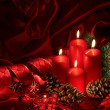 Christmas candles — Stock Photo #6038587