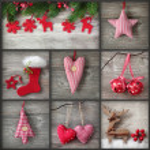 Collage of christmas photos — Stock Photo #7764635