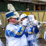 The carnival Parade moves through the city — Stock Photo #9528271