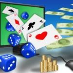 Online gambling — Stock Photo #5513531