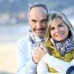 Smiling senior couple — Stock Photo #36648505