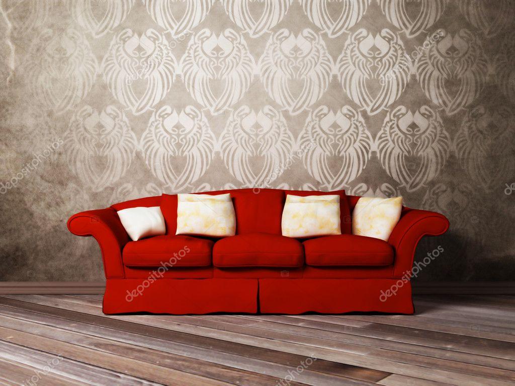 Design int rieur moderne de salle de s jour avec un canap for Dep design interieur