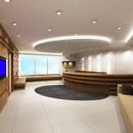 Modern living room design — Stock Photo #9633297