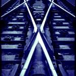 Railway crossroad — Stock Photo #6292489
