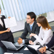 Business at business meeting, seminar or conference — Stock Photo #7511506