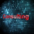 Business concept: Consulting on digital background — Stock Photo #29093169