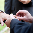 Gay Marriage - With This Ring — Stock Photo #10545739