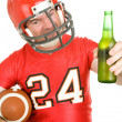 Sports Fan - Have a Cold One — Stock Photo #6697005