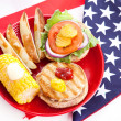 Healthy Fourth of July Picnic — Stock Photo #6804184