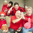 Football Fans Watch Superbowl — Stock Photo #6804613