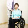 Business Tean - Disabled — Stock Photo #6815495