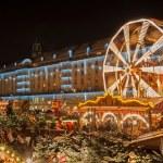 Christmas Market in Dresden — Stock Photo #16976119