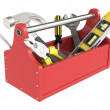 Toolbox with tools. — Stock Photo #12208844