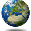 Planet Earth With Europe — Stock Photo #11622455