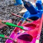 Kids painting — Stock Photo #12086102