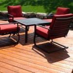 Backyard Deck — Stock Photo #25566745
