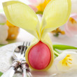 Easter place setting — Stock Photo #9440384