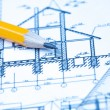 Engineering and architecture drawings — Stock Photo #19477769