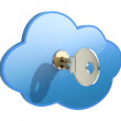 Cloud computing concept — Stock Photo #7986638