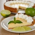 Key lime pie — Stock Photo #28846873