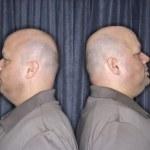 Identical twin men. — Stock Photo #9531970