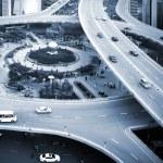 Traffic: crossing high ways — Stock Photo #20341935