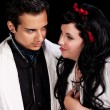 Love in a School Play — Stock Photo #15638783