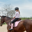 Riding a horse — Stock Photo #11060183