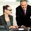 Successful business team working together — Stock Photo #12131404