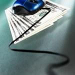 Online money concept — Stock Photo #10830640