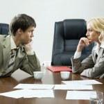 Tense negotiations — Stock Photo #10710681