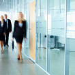 Businesspeople in corridor — Stock Photo #11629267