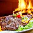 Barbecue on flaming hot — Stock Photo #11425225