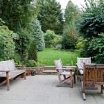 Patio garden furniture — Stock Photo #49469967