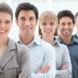 Business team at work — Stock Photo #12766954