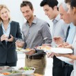 Business Having Meal Together — Stock Photo #24462035
