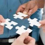 Business teamwork concept — Stock Photo #44861307