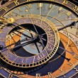 Astronomical clock in Prague, Czech republic — Stock Photo #13314675