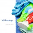 Colorful cleaning products — Stock Photo #19408707