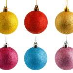 Colored Christmas balls — Stock Photo #13256998