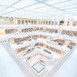 Resting in Stuttgart library — Stock Photo #41210445