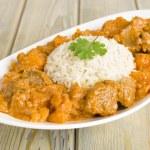 Lamb and Sweet Potato Peanut Curry — Stock Photo #21191593