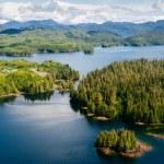 Alaska Prince of Wales island Ketchikan Aerial view — Stock Photo #22963186