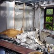 Bedroom after house fire — Stock Photo #20129287