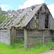 Old and dilapidated settlers shack — Stock Photo #39491219