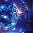 Time and clock background — Stock Photo #26640073