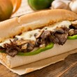 Steak and Cheese Sub — Stock Photo #35132941
