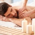 Man on a Massage Table — Stock Photo #25350565