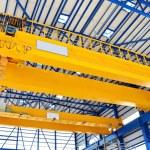 Factory overhead crane — Stock Photo #32785323