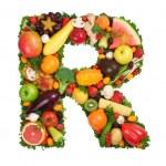 Alphabet of health — Stock Photo #39934159